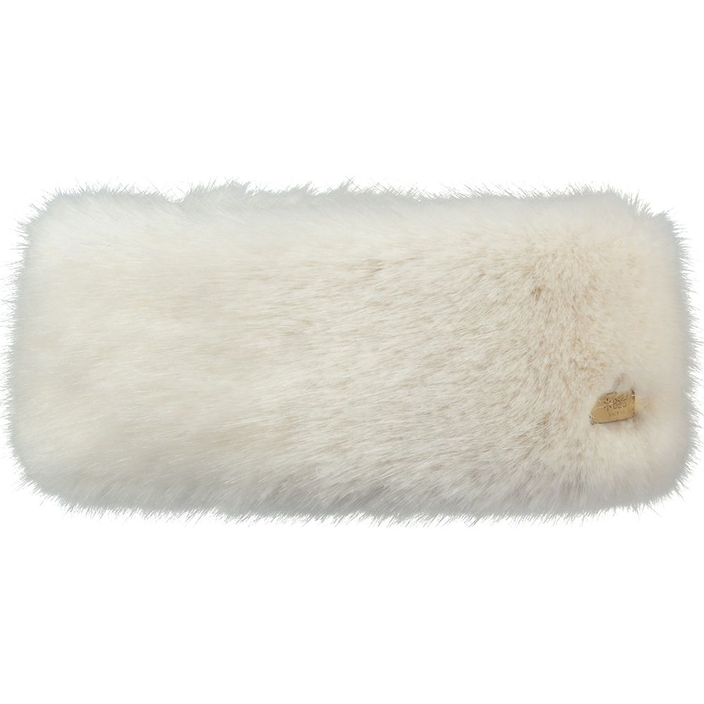 Barts Faux Fur Headband - White