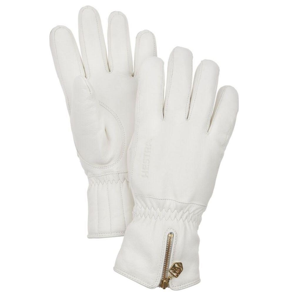 Hestra Leather Swisswool 5 Finger Ski Glove