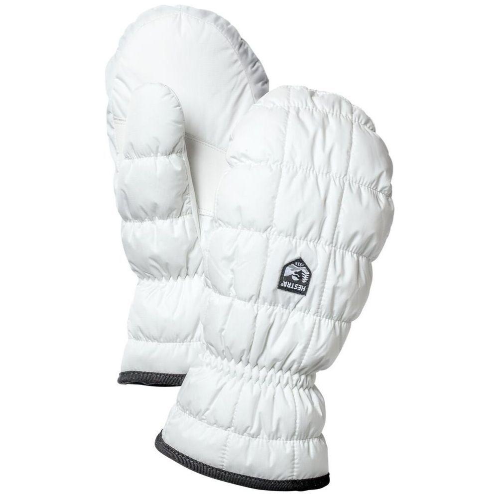 Ladies ski mitten and Hestra ski gloves