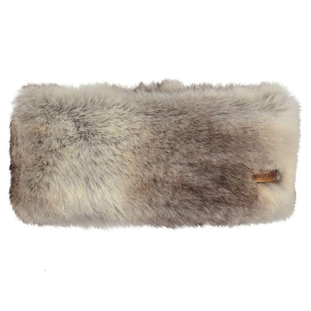 Barts Faux Fur Headband - Heather Brown