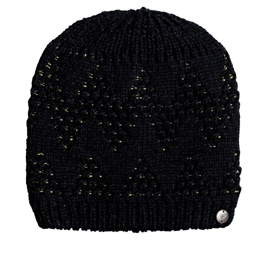 Roxy womens ski hat beanie, black