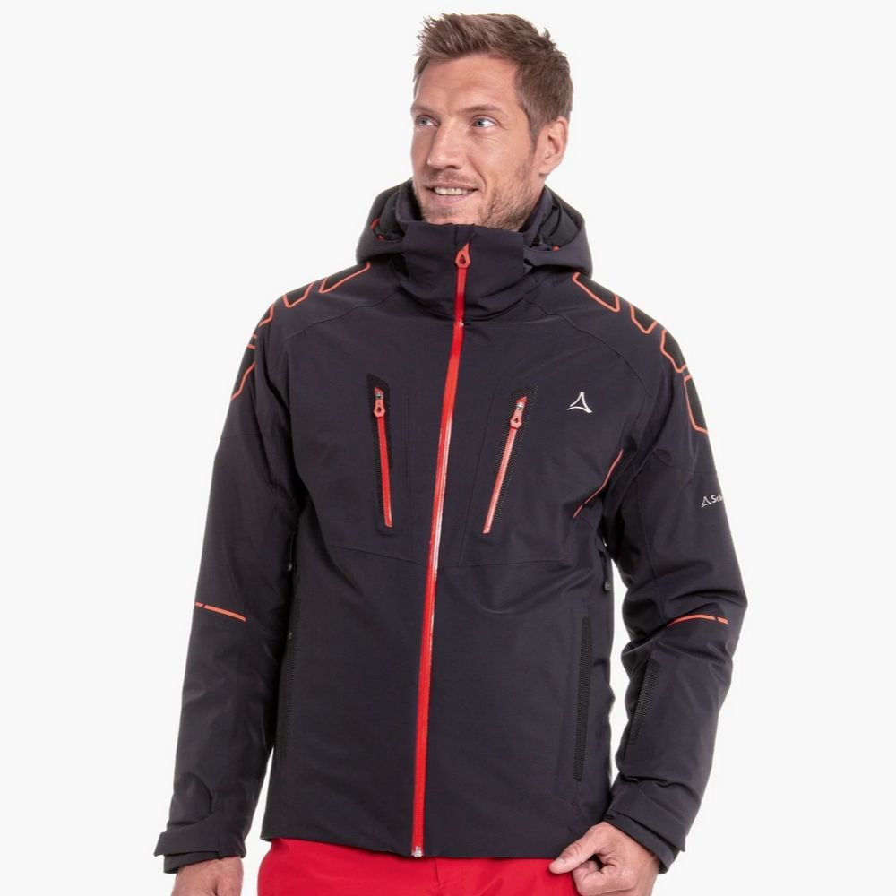 Schoffel Mens Ski Jacket Zurs3, Black