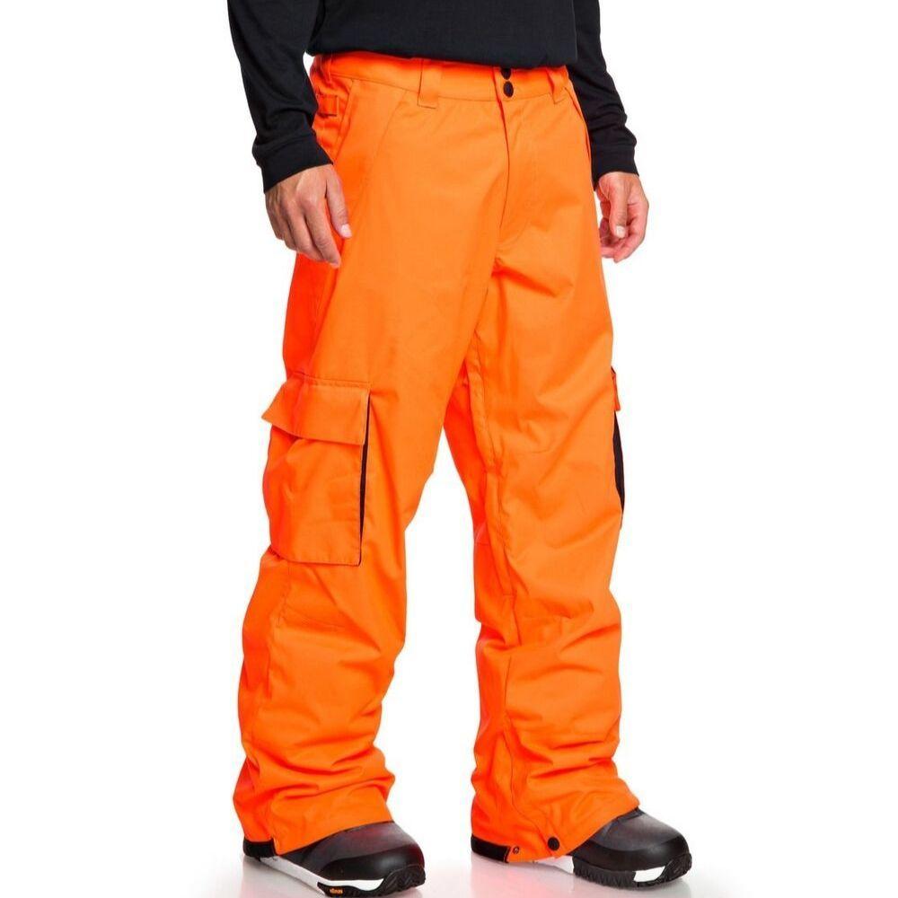 DC Banshee Mens Ski Pants Shocking Orange