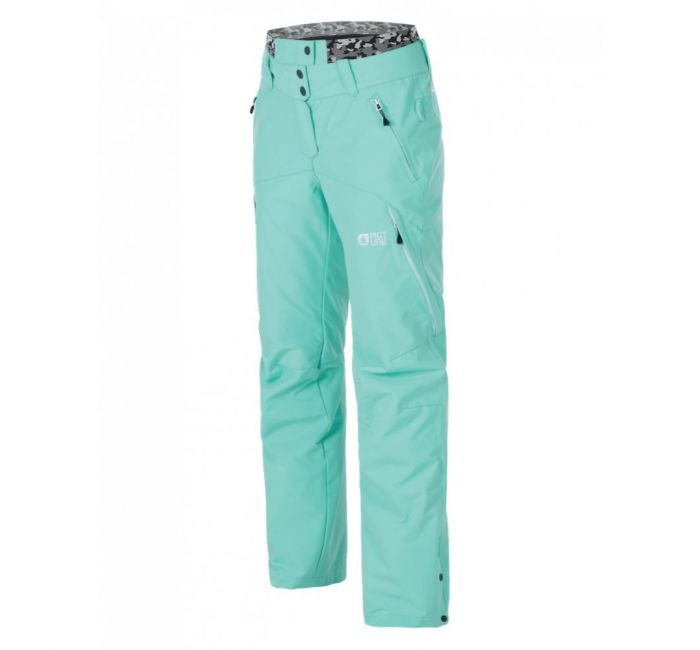 Picture Organic Womens Ski Pants, Mint Green