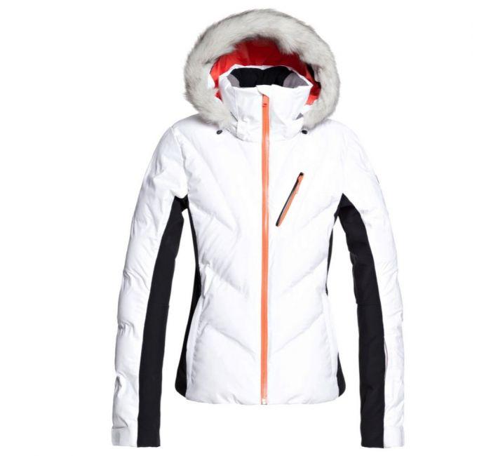 Roxy Snowstorm Womens Ski Jacket, Front