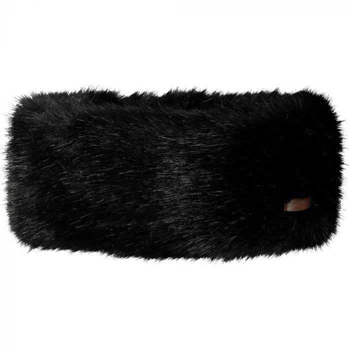 Barts Black Fur Headband