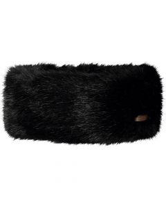 Barts Black Fur Headband