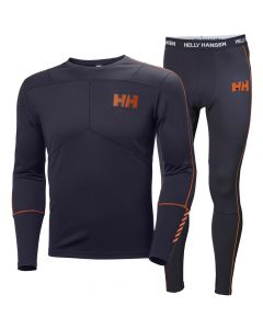 Helly Hansen Mens Lifa Active Set, Black1