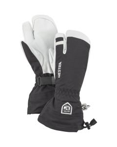 Hestra Adult Heli 3 - Finger Ski Gloves - Black