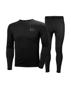 Helly Hansen Mens Lifa Active Set, Black