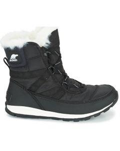 Sorel Whitney Short Lace Snow Boots, Black