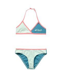 O'Neill Cross Top Coast Bikini - Brook Green