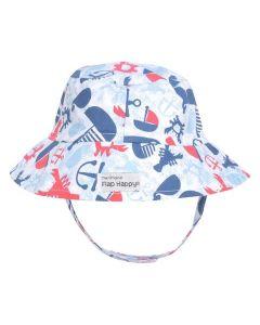 Flap Happy Crusher Hat, Lobster Lagoon