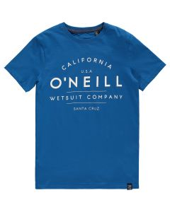 O'Neill Boys T-Shirt, Snorkel Blue 7-8 yrs only - save 25%