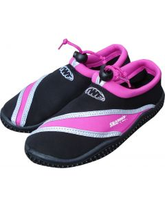 TWF Snapper Kids Beach Shoes - pink/silver UK Child Size 4 only - save 25%