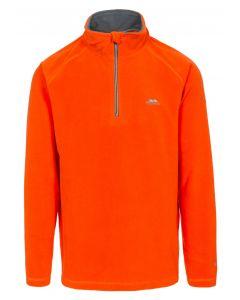 Trespass Mens Blackford Microfleece - Hot Orange