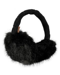 Barts Faux Fur Earmuffs - Black