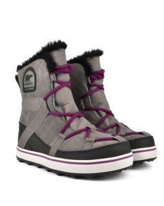 Sorel Womens Glacy Explorer Shortie, Quarry