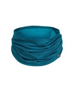 Icebreaker Flexi Chute Curve Neck Warmer, Kingfisher/Artic Teal