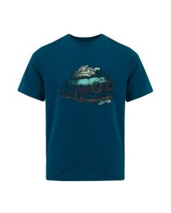 Animal Graphic Boys' Tidez T-Shirt, Legion Blue - save 25%