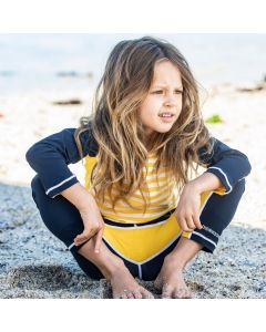 Didriksons Coast Kids UV Surf Leggings - Navy