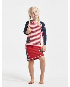 Didriksons Coral Kids UV Skirt Chili Red