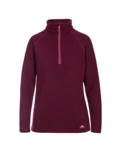 Trespass Youth Ladies Commotion Fleece - Fig