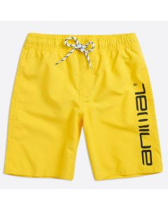 Animal Tannar Boys Boardshorts, Bright Yellow
