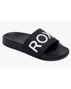 Roxy Slippy II Womens Sliders - Black