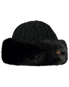 Barts Fur Cable Bandhat - Black