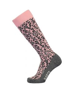 BARTS SKI SOCK, ANIMAL PRINT BLACK