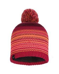 Buff womens knit hats, Bright PInk