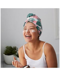 Dock & Bay Hair Wrap Quick Dry and Absorbent - Banana Leaf Bliss