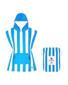 Dock & Bay Kids Beach Poncho - Blue