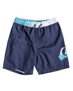 Quiksilver Critical Volley Boys Board Shorts - Medieval Blue