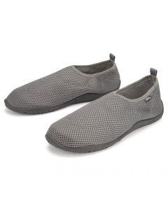 Mens beach shoes, grey