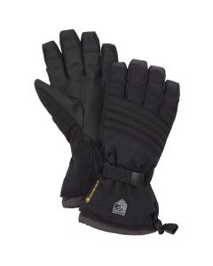 Hestra Gore-Tex Perform Adult Ski Glove Gauntlet, Black