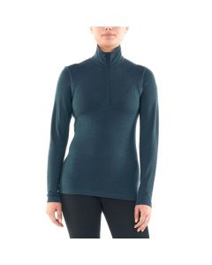 Icebreaker 260 Womens Tech Half-Zip Mid Layer Thermal, Black
