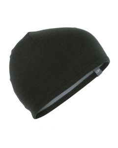 Icebreaker Adult Pocket Hat - Black/Gritstone Heather OS