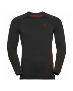 Odlo Men Sport Performance Warm Eco LS Baselayer - Black