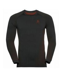 Odlo Men Sport Performance Warm Eco LS Baselayer - Black