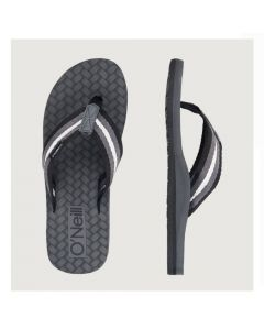 O'Neill mens black flip flops