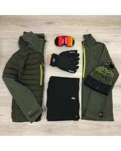 O'Neill Mens Igneous Ski Jackets Bundle
