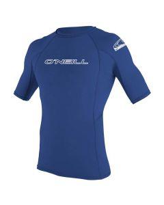 O'Neill Mens Basic Skins Short Sleeve Sun Shirt - Pacific