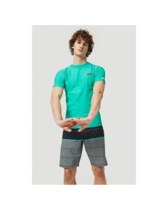 O'Neill PM Essential Short Sleeve Skins - Salina Green