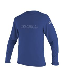 O'Neill Youth Basic UV Skins L/S Sun Shirt, Pacific