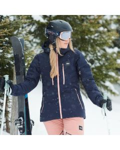 Picture Pluma Womens Ski Jacket - Dark Blue