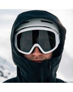 POC ski goggles, hydrogen white