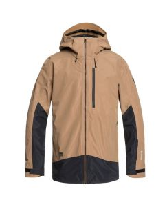 Quiksilver mens ski jacket, otter