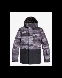 Quiksilver Mission Bloc Youth Ski Jacket Black - save 25%